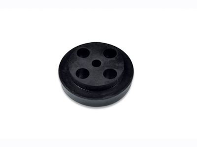Rubber isolations cable element