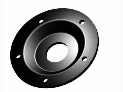 "Rubber  flange D140 with o-ring  ""blind"" [ΕΦ 8741354]"